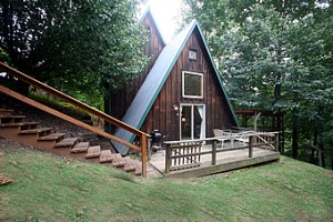 Cabin Rentals North Carolina. The Monteith cabin at Rock Creek